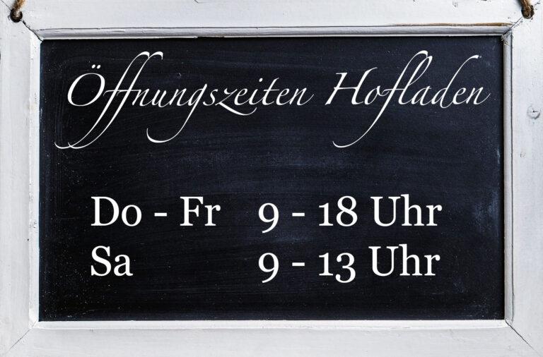 Öffnungszeiten Hofladen Beitragsbild